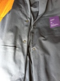 """Aviator inside - unlined and two only two inner pockets. Jacket is a nice blue, not sure why it looks grey here. Also show the """"Cobra-X"""" buttons"""